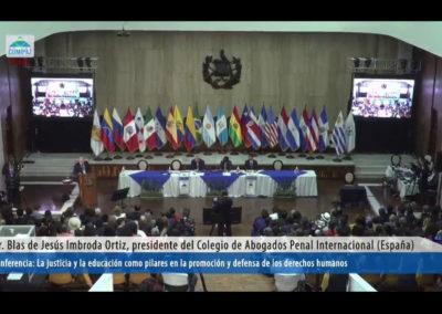 Blas Jesus Imbroda - Conferencia Derechos Humanos